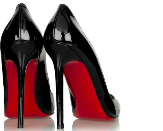 Ladies, if you're going to risk your lives on the hills of Hong Kong in Christian Louboutins please make sure they are real.